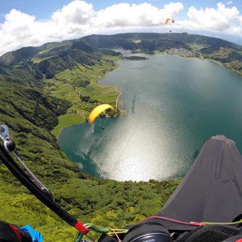 Lo mejor de Sao Miguel: ¡Volar sobre este maravilloso paisaje!