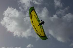 El ITV Jedi 2 cuenta con un pilotaje dinámico y responde bien en maniobras como como wing overs y barrenas.