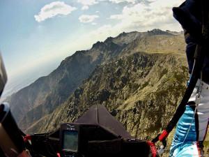 Volando parapente en el corazón de Gredos.