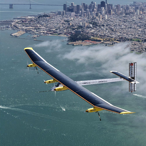 Solar Impulse en Fia El Yelmo Festival de cine del aire