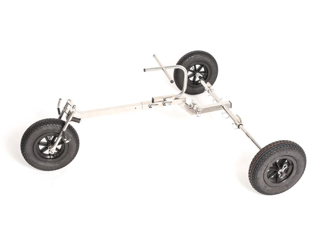 El trike sin paramotor