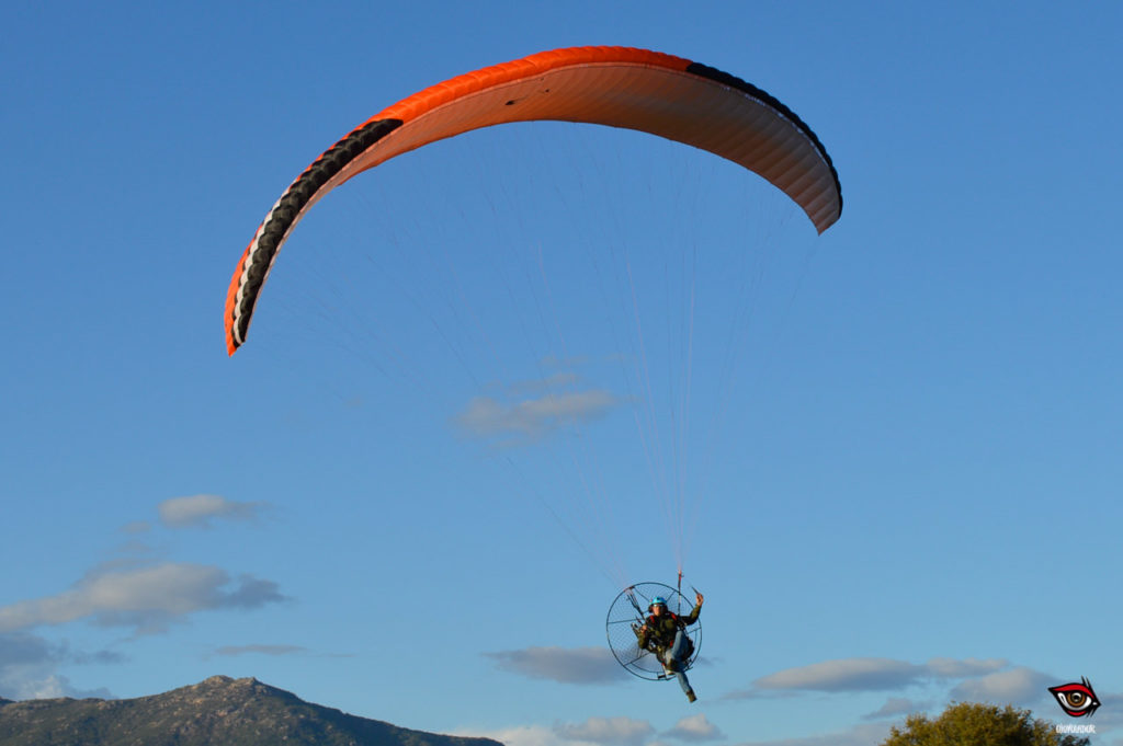 Sycross One en Paramotor
