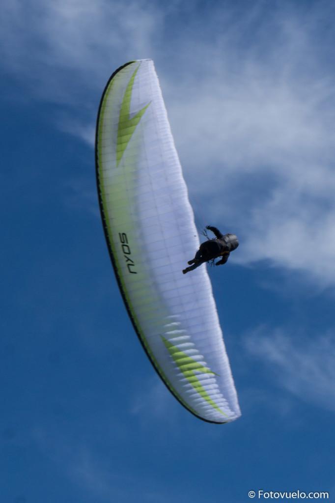 Swing Nyos, un EN B asequible pero que puede ofrecer un pilotaje dinámico.