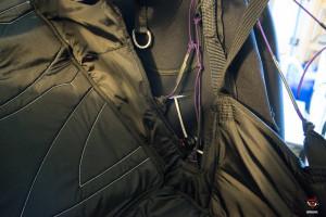 Ozone Forza, regulacion interna de la silla