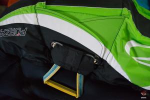 Ozone Forza, sistema de extracción del paracaídas.