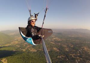 """Volar siempre es un regalo; sólo hace falta un poco de """"actitud"""" positiva para sentirlo."""