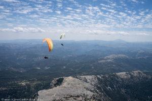 Volando XC en el Open de distancia del Yelmo