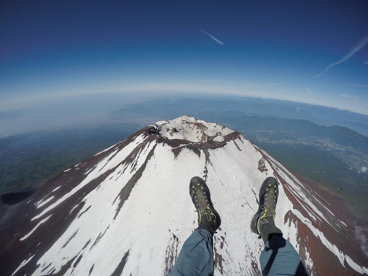 Https Www Pinterest Com Paramotor Over Mount Fuji 4200m Ojovolador Com