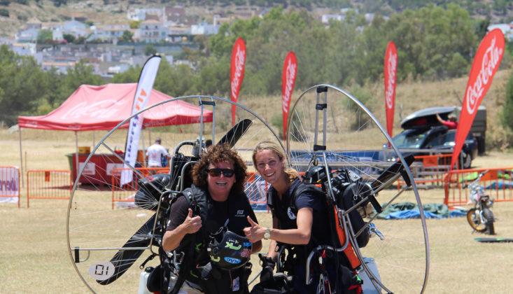 Europeo de Paramotor Slalom. Por Karen Skinner
