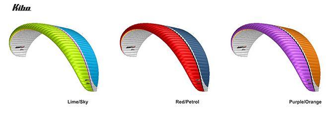 Gama de colores estándar del UP Kibo