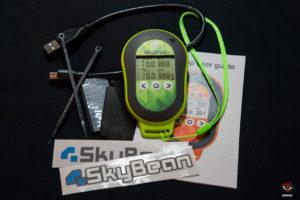 Esto el lo que viene en la caja del SkyDrop