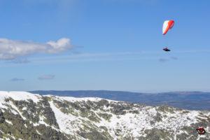 Sobrevolando Gredos con el Airdesign Volt 2