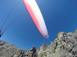 volando por las cumbres de Gredos con el Airdesign Volt 2