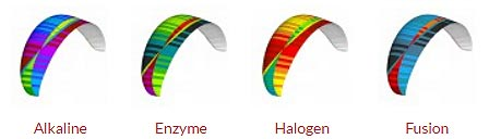 Gama de colores BGD Cure