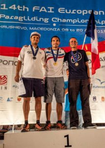 Campeonato Europeo de Parapente de Macedonia 2016