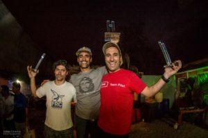 Podium Campeonato Argentino de Parapente