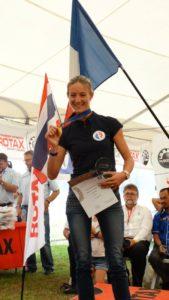 Marie Mateos, Mundial de Paramotor 2016