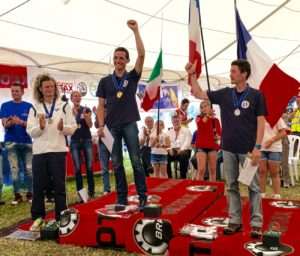Mundial de Paramotor 2016 podium