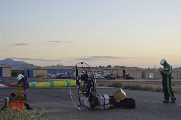 Récord del mundo de paramotor biplaza