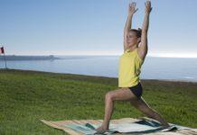 rodillas parapente yoga