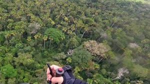 Record de paramotor 605 km en Brasil. Foto publicada en Airboysteam.com