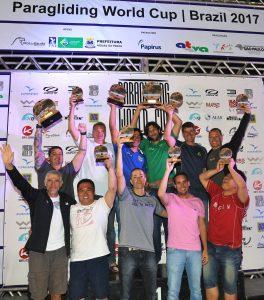 PWC Brazil podium