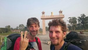 Stefan Bocks and Basti Huber - vol-biv in the Himalaya