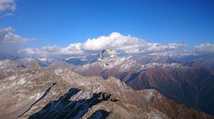 Parapente en el Himalaya