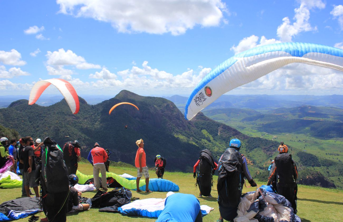 Jeison Zeferino is Pan-American Paragliding Champion 2018