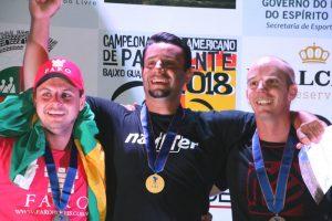 Pan-American Paragliding Championships of Baixo Guandu, Brasil.