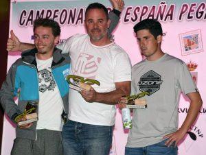 Podio Open y Campeonato de España de Parapente 2018. Foto: Mario Arqué / Facebook