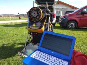 Paracell en Desafío 1,5kw paramotores eléctricos