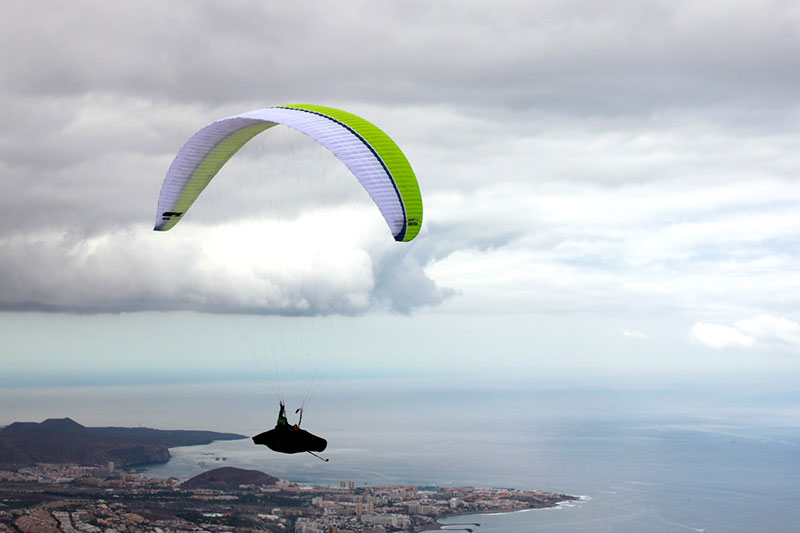 UP Meru, new high-end EN D paraglider