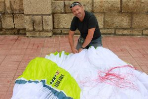 UP Meru, new high-end EN D paraglider