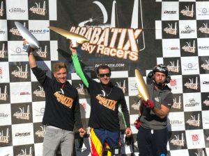 Podium Icarobatix at the Coupe Icare 2018