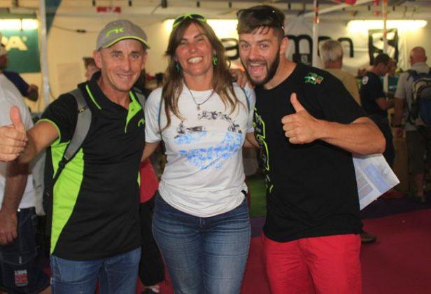 Ramón Morillas, Bea García and Manu Tejeiro