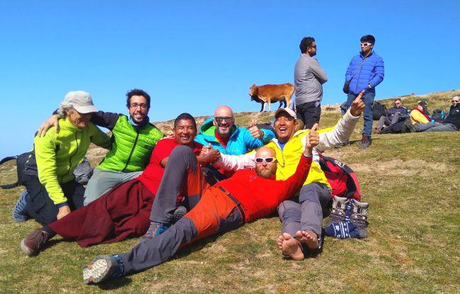 Chelui superviviente, 5 días perdido en el Himalaya