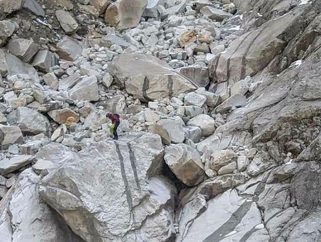 Chelui, superviviente, 5 días perdido en el Himalaya