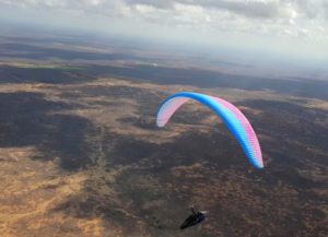 Marcella Uchoa, paragliding world record of distance