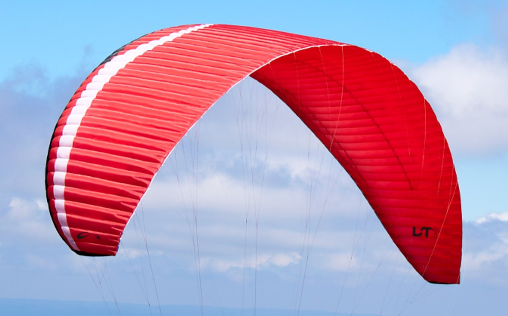 Sol LT1 paraglider: 2 lines, beyond conventional certification